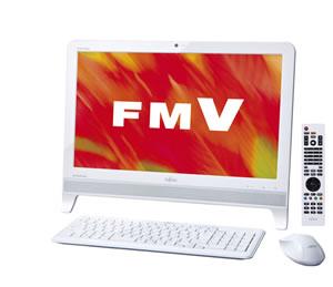 富士通製 一体型パソコンの設定画像