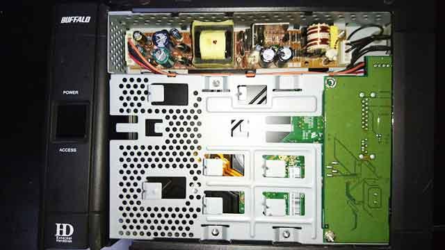 福岡市東区-外付けHDDの故障事例2の画像
