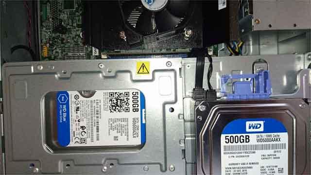 HDD故障・交換 - PC修理(福岡市東区)
