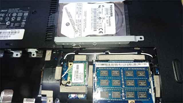 (福岡市博多区)パソコンが起動しない - HDD故障の画像