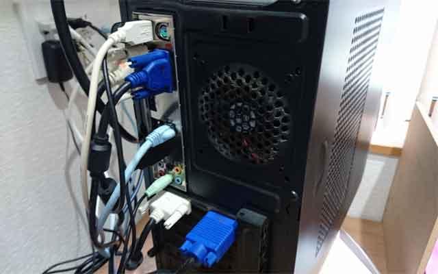 福岡市東区美和台新町でパソコンが再起動を繰り返す不具合の対処
