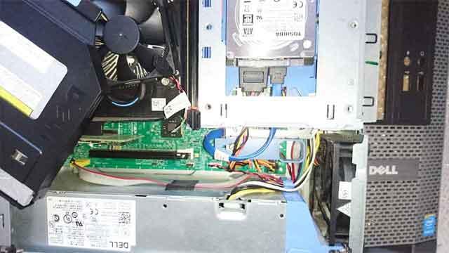 DELLパソコンが起動しない 電源故障/交換