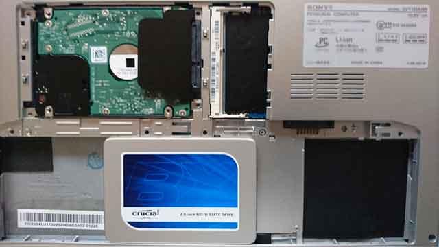 SSD換装画像2