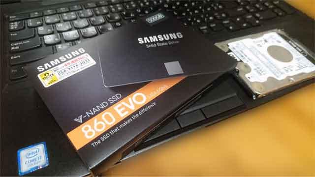 福岡市中央区。パソコン修理 SSD換装 HDD交換